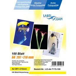 Folie Transparenta Retroproiector OHP LabelOcean A4 Monocroma Laser 100 Coli
