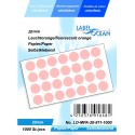 Etichete Autoadezive Buline Colorate Diametru 20 mm Hartie 1000 Bucati