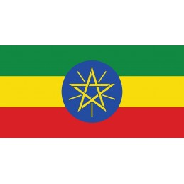 Drapel Autocolant Etiopia...