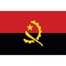 Drapel Autocolant Angola 10 cm