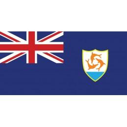 Drapel Autocolant Anguilla...