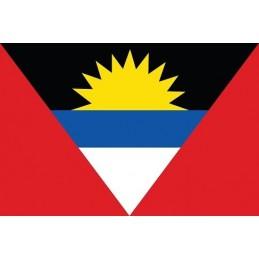 Drapel Autocolant Antigua...