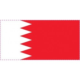 Drapel Autocolant Bahrein...