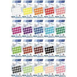 Etichete Autoadezive Buline Colorate Diametru 50 mm Plastic 1000 Bucati