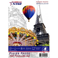 Hartie Foto A4 EtiquetteStar Premium High Glossy 180g 100 Coli