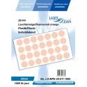 Etichete Autoadezive Buline Colorate Diametru 20 mm Plastic 1000 Bucati