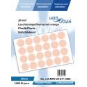 Etichete Autoadezive Buline Colorate Diametru 30 mm Plastic 1000 Bucati