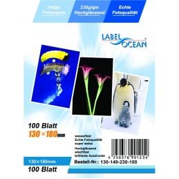 Hartie Foto 13x18 cm LabelOcean Premium High Glossy 230g 100 Coli