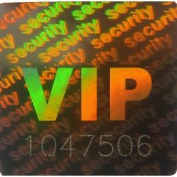 Holograme VIP cu Numar...