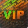 Holograme VIP cu Numar Serial 1000 bucati