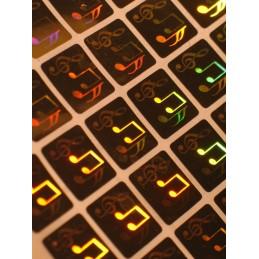 Holograme Note Muzicale...
