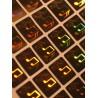 Holograme Note Muzicale 1000 bucati