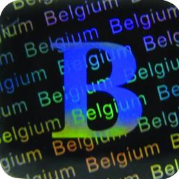 Holograme Belgia 1000 bucati