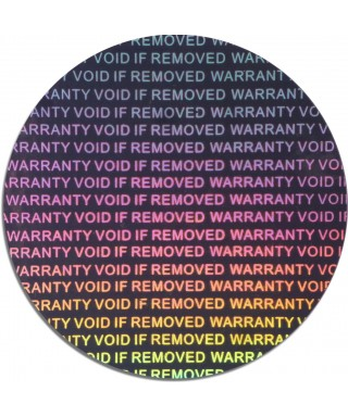 Holograme Warranty Void If...